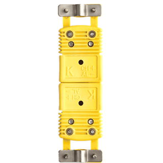 Omega Thermocouple Standard Connector with clamp